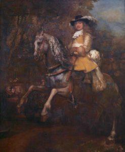 Frederick Rihel on Horseback, by Rembrandt