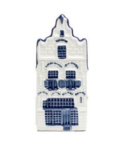 NR 20 Delfts blauw huisje Edam