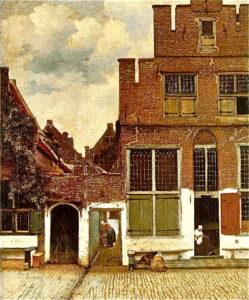 NR 76 straatje van Vermeer