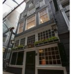 KLM house No. 23 - Tasting room Wynand Fockink (1689) - Pijlsteeg 31, Amsterdam