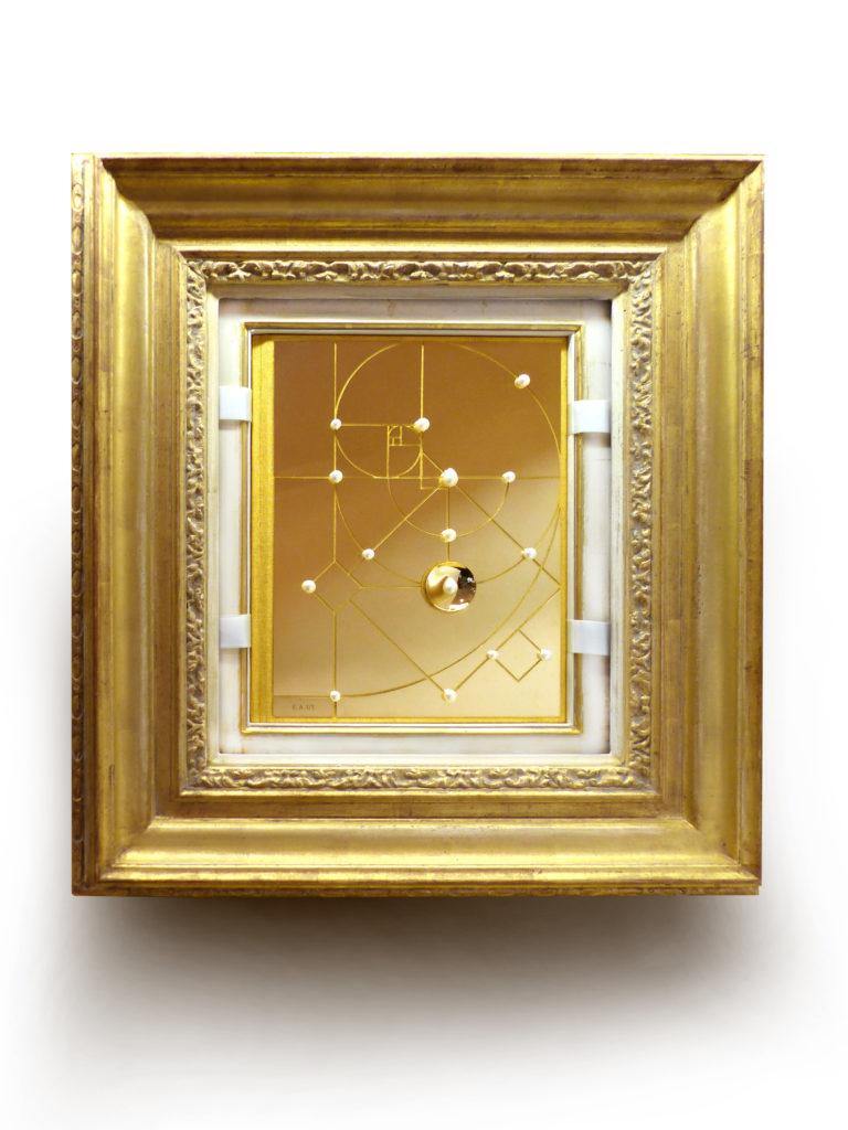 The Gold Edition ingelijst
